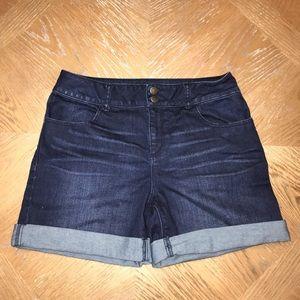 Gibson Latimer Dark Denim Shorts